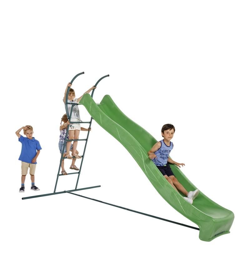 Drabinka ze zjeżdżalnią 3m i dziećmi