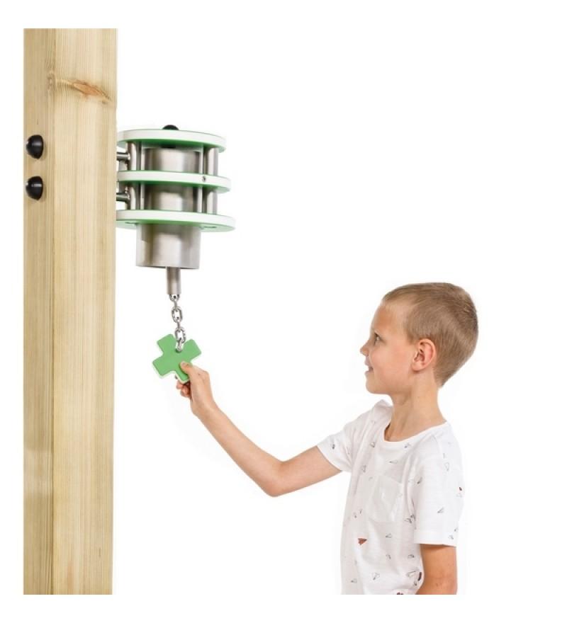 Dzwonek ze stali nierdzewnej na plac zabaw