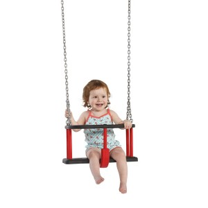 Huśtawka gumowa basic z dzieckiem