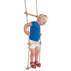 Drabinka linowa pięciostopniowa na plac zabaw