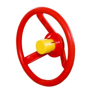 Kierownica na plac zabaw czerwona 1