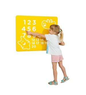 Panel edukacyjny Liczby