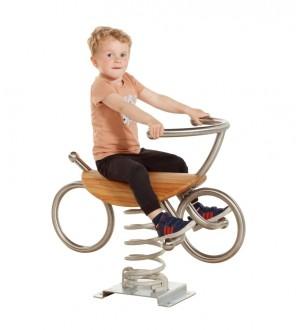 Bujak na sprężynie Spring Toy - Rower