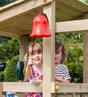 Dziecko z dzwonem zielone jabłuszko