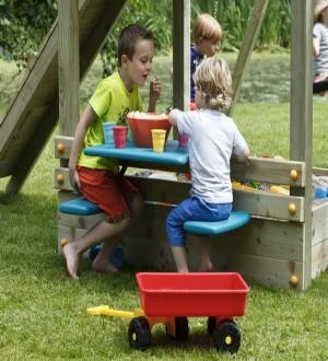 Zestaw stół + krzesła na plac zabaw