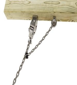 Zawiesie ze stali nierdzewnej do huśtawek wieloosobowych