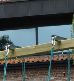 Mocowanie do huśtawki bocianie gniazdo
