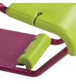 Huśtawka metalowa dwuosobowa wrzos - siedzenie
