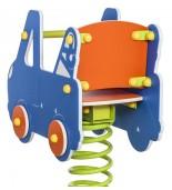 Bujak auto holownicze na plac zabaw tył