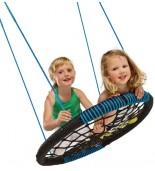 Bocianie gniazdo oval niebieskie z dziećmi 2