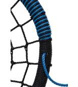 Bocianie gniazdo oval niebieskie