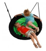 Bocianie gniazdo swibee zielone z dziećmi