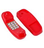 Telefon na plac zabaw - czerwony