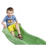 Zjeżdżalnia 2,5m z dzieckiem na placu zabaw