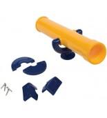 Teleskop na plac zabaw żółto niebieski