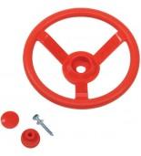 Kierownica na plac zabaw czerwona 2