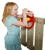 Kierownica na plac zabaw z dzieckiem