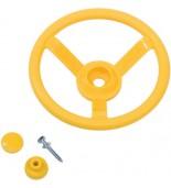 Kierownica na plac zabaw żółta