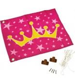 Flaga na plac zabaw księżniczka