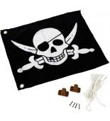 Flaga na plac zabaw pirat