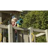 Teleskop dla dzieci na placu zabaw