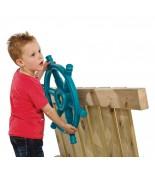 Dziecko bawiące się sterem star