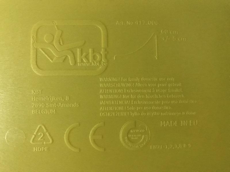 Etykieta - zjeżdżalnia 3m